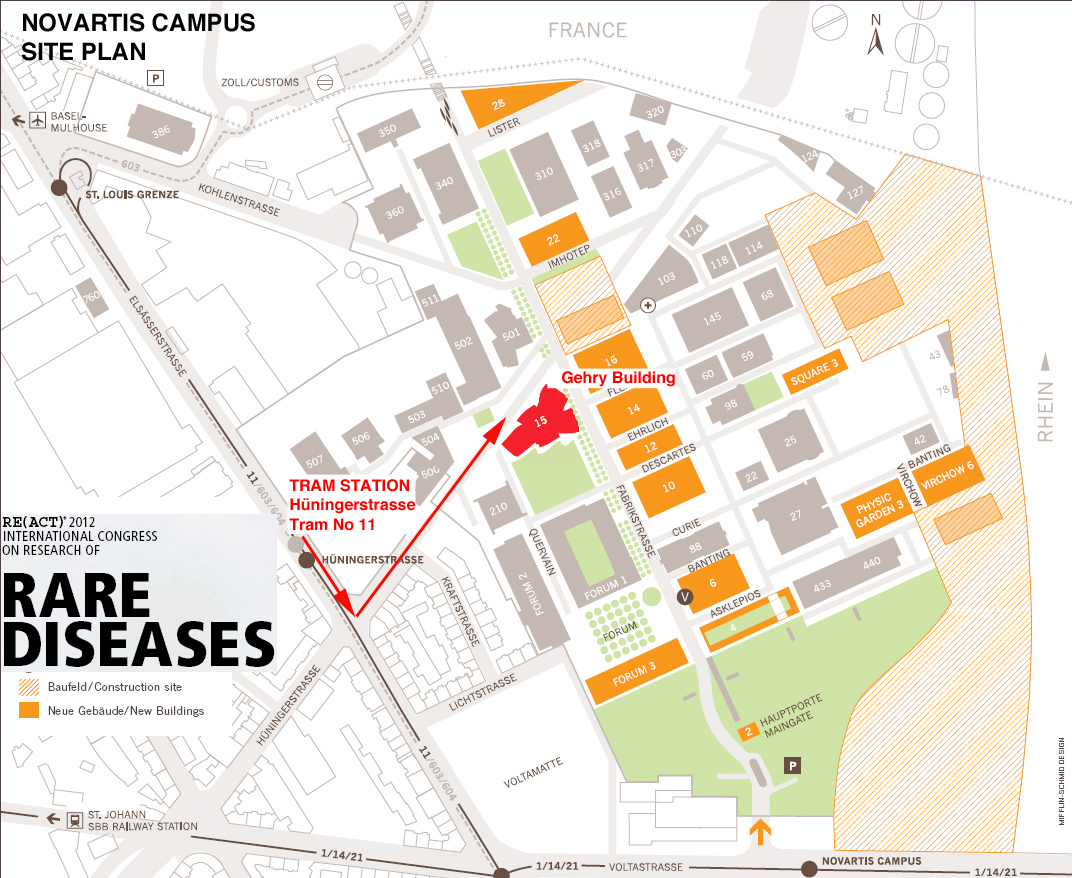 novartis basel campus map Gehry Building Re Act Congress novartis basel campus map